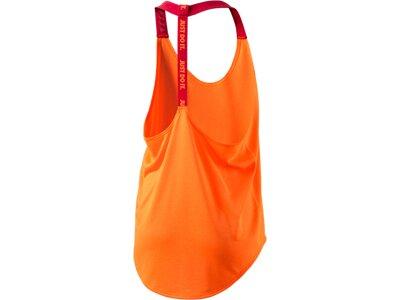 NIKE Damen Tanktop ELASTIKA SOLID TANK Orange