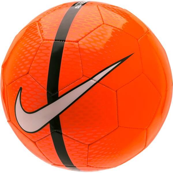 NIKE Trainingsball React Fußball Orange
