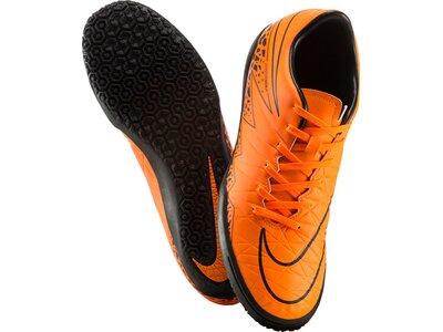 NIKE Herren Fußball-Hallenschuhe Hypervenom Phelon II IC Orange