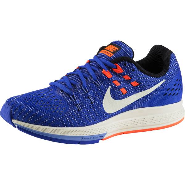 NIKE Damen Laufschuhe Air Zoom Structure 19 Blau