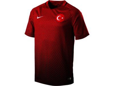 NIKE Herren Fußballtrikot TUR M SS H/A STADIUM Rot