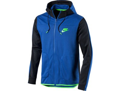 NIKE Herren Sweatjacke mit Kapuze Sportswear Advance 15 Hoodie Blau
