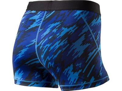 NIKE Damen Shorts CL 3IN OVERDRIVE Blau