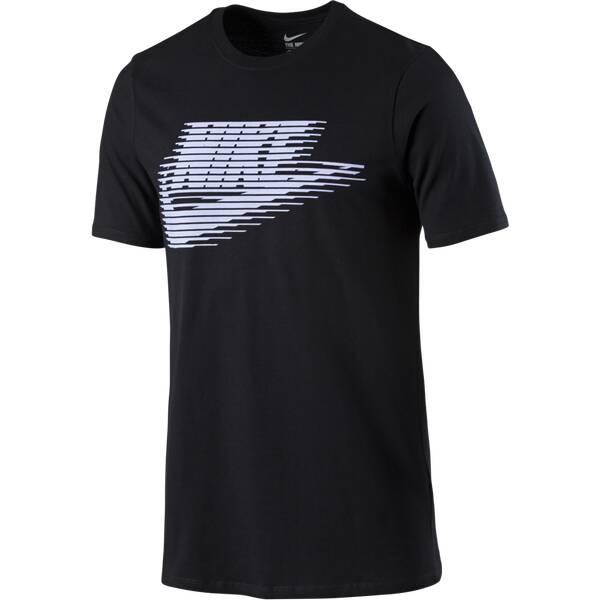 NIKE Herren Shirt Lenticular Futura Schwarz