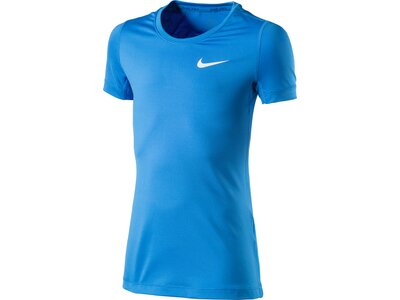 NIKE Kinder Trainingsshirt Pro Blau