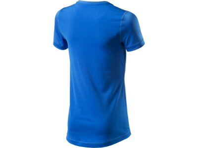 NIKE Girls Trainingsshirt Pro Blau