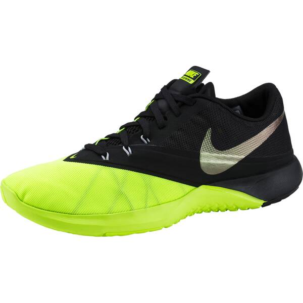 NIKE Herren Trainingsschuhe / Fitnessschuhe FS Lite 4 Training Shoe | Schuhe > Sportschuhe > Fitnessschuhe | Schwarz - Silber | Gummi | NIKE