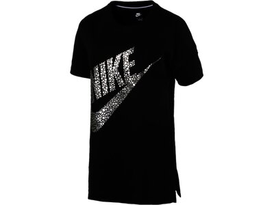NIKE Damen Shirt TOP GX Schwarz