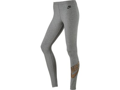 NIKE Damen Tight W NSW LEG-A-SEE LGGNG GX1 Grau