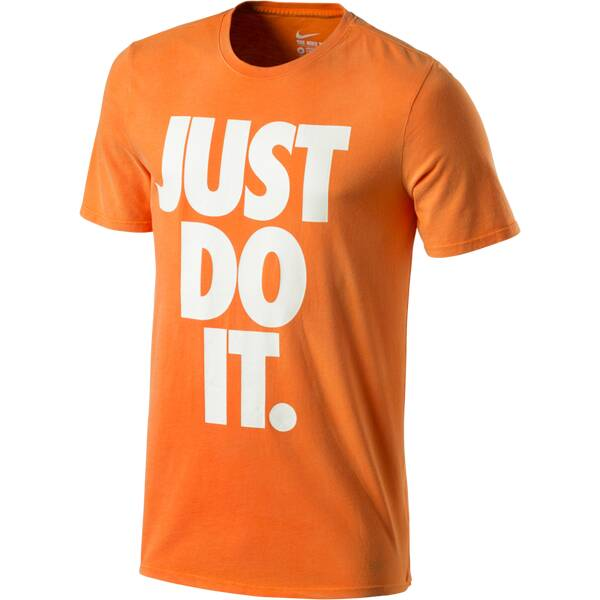 NIKE Herren Shirt Solstice JDI Orange