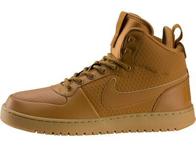 NIKE Herren Mid-Cut-Sneakers Court Borough Mid Winter Braun