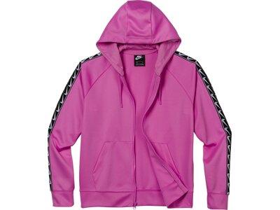 NIKE Lifestyle - Textilien - Jacken Full-Zip Swoosh Kapuzenjacke Damen Pink