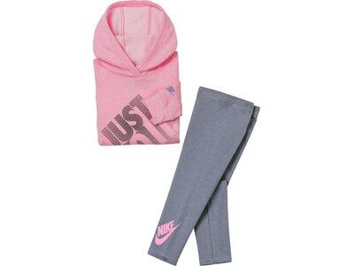 NIKE Kinder Sportanzug G NSW HOODIE AND LEGGING SEET Pink