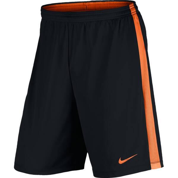 NIKE Herren Fußballshorts Dry Football Short | Sportbekleidung > Sporthosen > Fußballhosen | Schwarz - Orange | NIKE