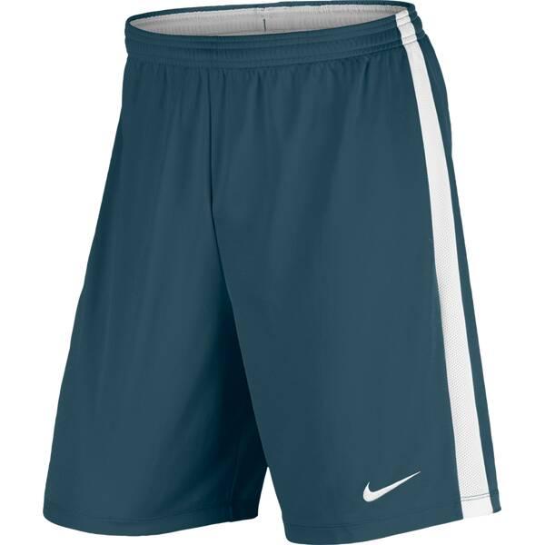 NIKE Herren Fußballshorts Dry Football Short | Sportbekleidung > Sporthosen > Fußballhosen | Blau - Weiß | NIKE