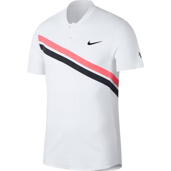 NIKE Herren Tennis Poloshirt Zonal Cooling RF Advantage Kurzarm
