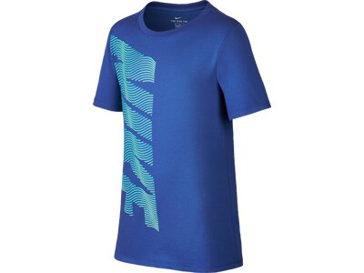 NIKE Kinder T-Shirt DRY TEE THERMA NIKE Blau