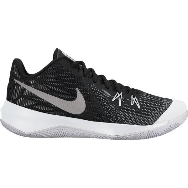 NIKE Herren Basketballschuhe Zoom Evidence II | Schuhe > Sportschuhe > Basketballschuhe | Schwarz - Grau - Weiß | NIKE