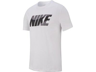 NIKE Herren Shirt NK DRY TEE DFC NIKE BLOCK Weiß