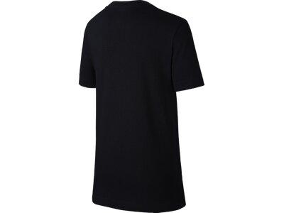 NIKE Kinder T-Shirt B NSW TEE CORE+ HBR Schwarz