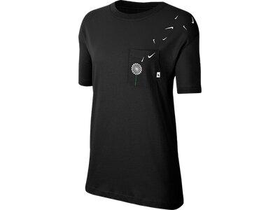 NIKE Damen Shirt NOVEL Schwarz