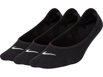 NIKE Damen LTWT FOOT 3PR Schwarz