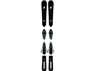 K2 Herren All-Mountain Ski ANTHEM 76 LTD ER3 10 COMPACT QUIKCLIK BL Schwarz