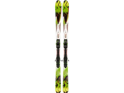 K2 Herren All-Mountain Ski Ski-Set A.M.P. Rictor + Bdg. MX 12.0 Grün