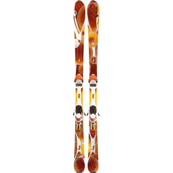 K2 Damen All-Mountain Ski Ski-Set Superburnin + Bdg. ERS 11.0 TC