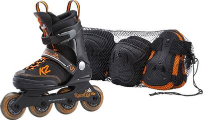 K2 Kinder Inlineskates RAIDER PRO PACK JR.