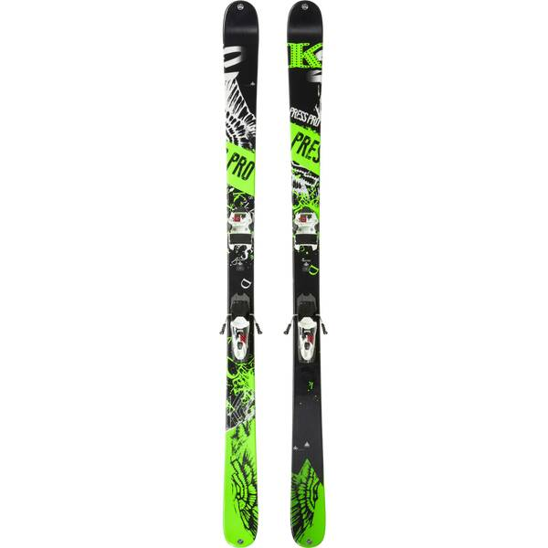 K2 Herren All-Mountain Ski Press Pro + Free Ten 85