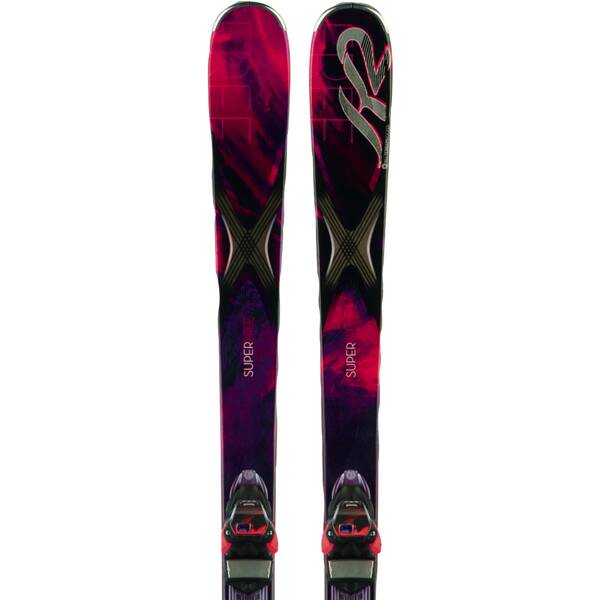 K2 Damen All-Mountain Ski SUPERFREE ER3 10 SET