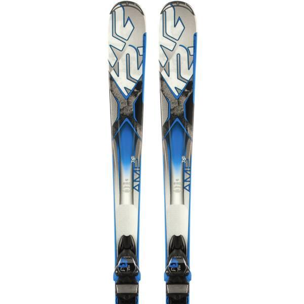K2 Herren All-Mountain Ski AMP 76 TI M3 10.0 SET