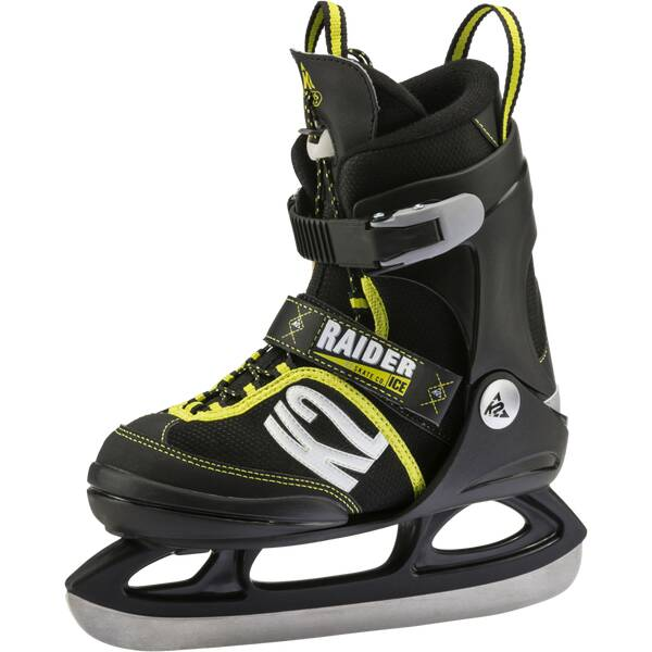 K2 Kinder Eishockeyschuhe RAIDER ICE Schwarz