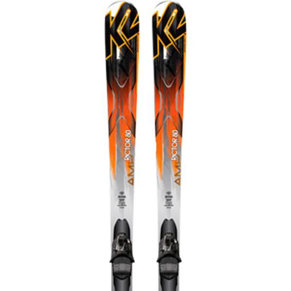 K2 Herren All-Mountain Ski AMP Rictor 80 MXC 12 TC