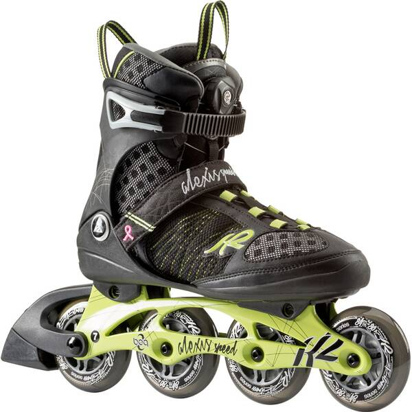 K2 Damen Inlineskates Alexis 84 Speed Boa green