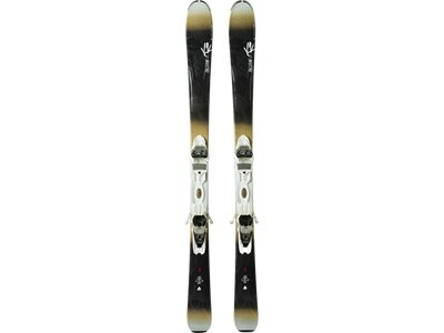 K2 Damen All-Mountain Ski BELUVED 78 TI ER3 10 SET Schwarz