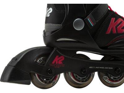 K2 Kinder Inlineskates Velocity Jr. Boys Schwarz