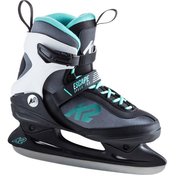 K2 Damen Schlittschuhe ESCAPE SPEED ICE Grau