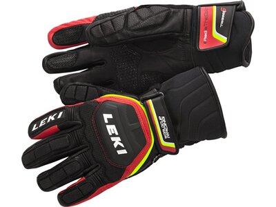 LEKI Herren Handschuhe HS Worldcup Race Flex S LT Speed Sy Schwarz