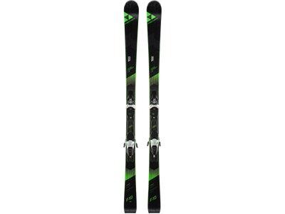 FISCHER Herren Racing Ski PROGRESSOR F19 RT + RS 11 PR Schwarz