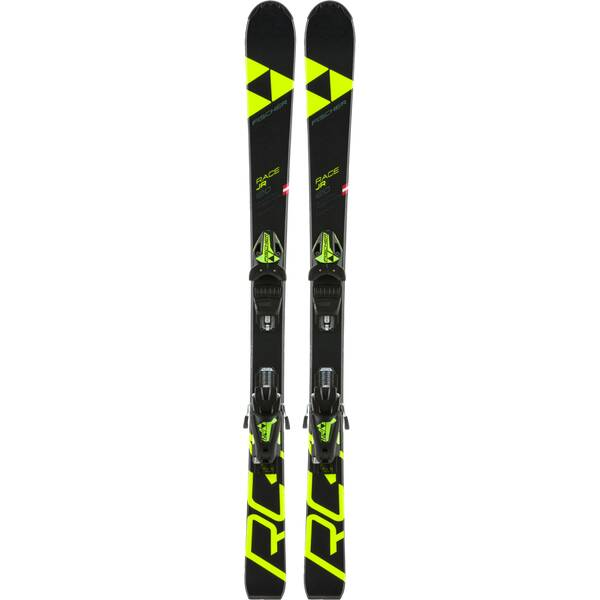 FISCHER Kinder Racing Ski RC4 RACE SLR + FJ7 AC SLR