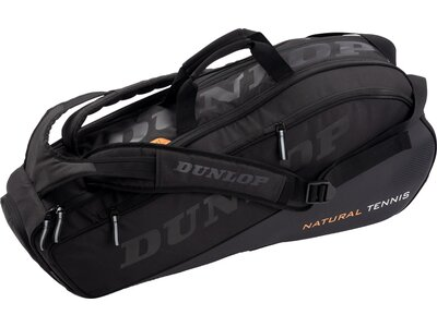 DUNLOP Tennistasche NT 8 RACKET BAG - BLACK/BLACK Schwarz