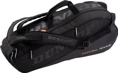 DUNLOP Tennistasche NT 8 RACKET BAG - BLACK/BLACK