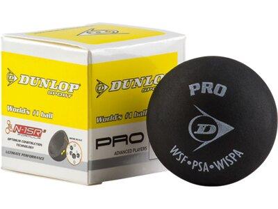 DUNLOP Ball Sq-Ball Pro, 2 gelbe Punkte 700067 Schwarz