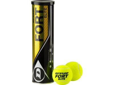 DUNLOP Ball D TB FORT ELITE 4 TIN Gelb