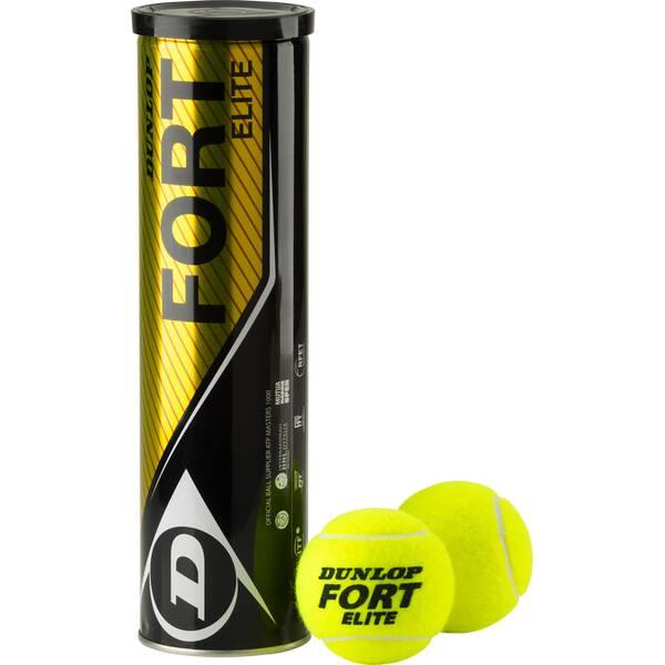 DUNLOP Tennisball Fort Elite Gelb