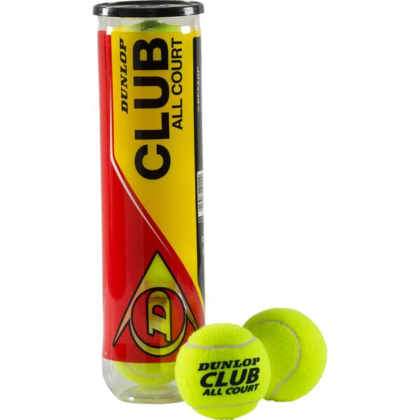 DUNLOP Ball D TB CLUB ALL COURT INTERSP. 4PET