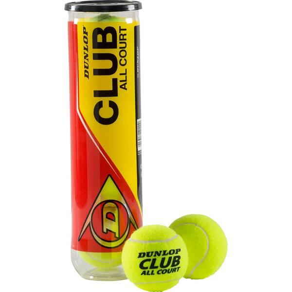 DUNLOP Ball D TB CLUB ALL COURT INTERSP. 4PET