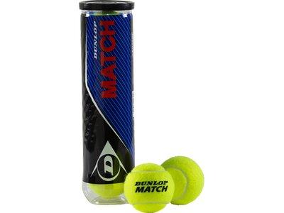 DUNLOP Tennisbälle Match Gelb